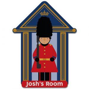 Bedroom Door Plaque Soldier