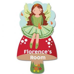 Bedroom Door Plaque Fairy