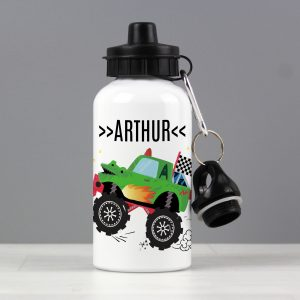 Personalised Monster Truck Drinks Bottle