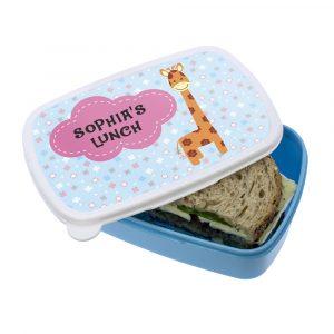 Giraffe Character Lunch Box