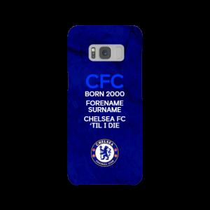 Chelsea FC 'Til I Die Samsung Galaxy S8 Phone Case