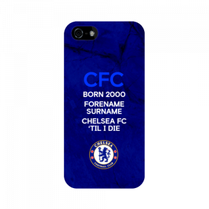 The personalised Chelsea FC 'Til I Die iPhone 5/5S/5SE Phone Case makes the perfect treat for yourself or gift for any occasion!