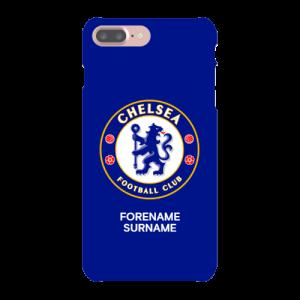 Chelsea FC Bold Crest iPhone 8 Plus Phone Case