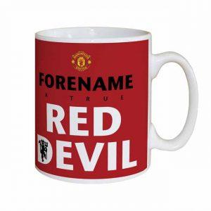 Manchester United FC Red Devil Mug