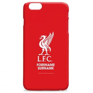 Liverpool FC Bold Crest Hard Back Phone Case