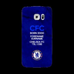 Chelsea FC Til I Die Samsung Galaxy S7 Edge Phone Case