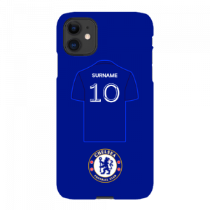 Chelsea FC Shirt iPhone 11 Phone Case