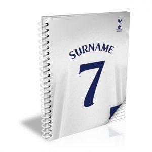 Tottenham Hotspur Shirt Notebook