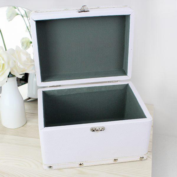 Noah's Ark White Keepsake Box