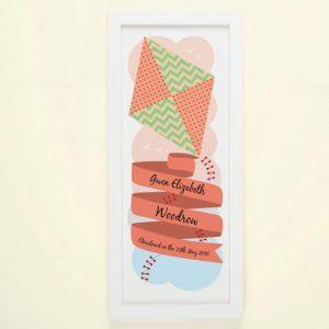 Kite Personalised Framed Print