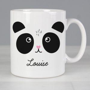 Personalised Cute Panda Face Mug