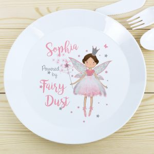 Fairy Princess Plastic Plate