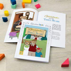 Personalised Goldilocks Book