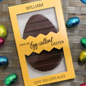 Personalised Letterbox Easter Egg