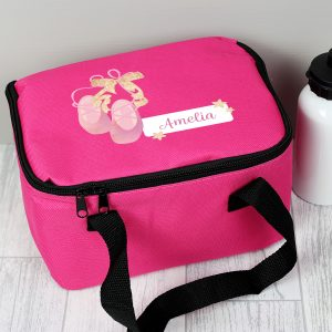 Personalised Ballet Shoes Lunch Bag