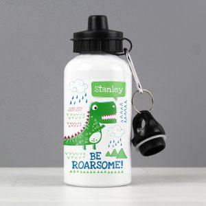 'Be Roarsome' Dinosaur Drinks Bottle