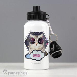 Personalised Rachael Hale Cat Drinks Bottle