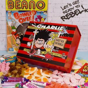 Beano Personalised Sweet Box