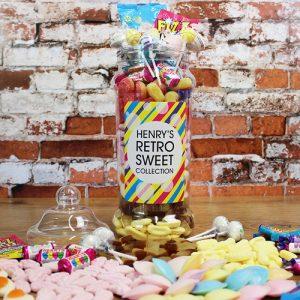 Giant Victorian Retro Sweet Jar