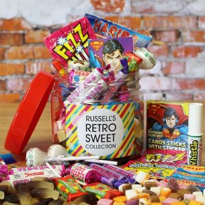 Retro Sweet Taster Jar
