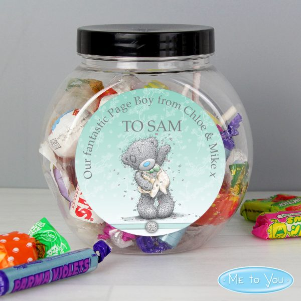 Personalised Me To You Pageboy Wedding Sweets