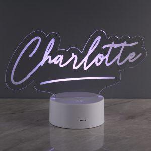 Personalised Name LED Night Light