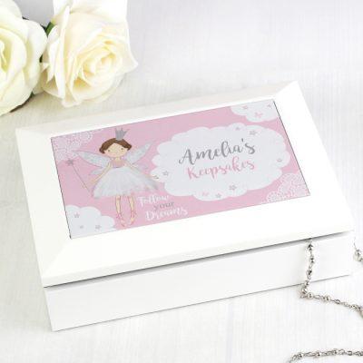 Personalised Fairy Princess Jewellery Box (1)